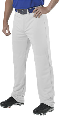 Alleson 605WAP Adult Adjustable Inseam Baseball Pant - White