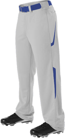 Alleson 605WL2 Adult Two Color Baseball Pant - Gray Royal