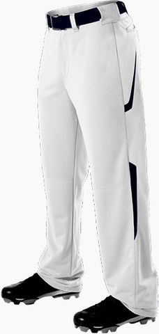 Alleson 605WL2 Adult Two Color Baseball Pant - White Navy