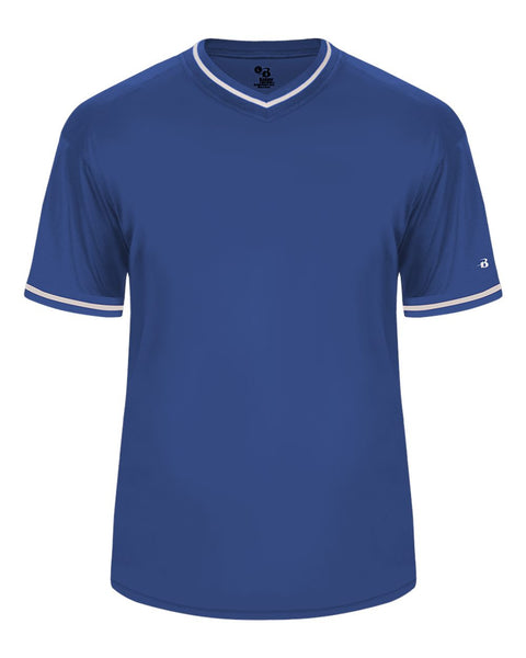 Badger 7974 Vintage Jersey - Royal Royal White