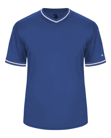 Badger 2974 Vintage Youth Jersey - Royal Royal White