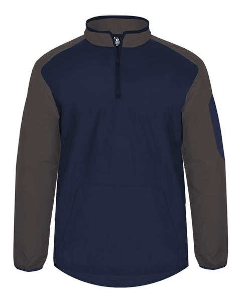 Badger 7640 Field Pullover - Navy Graphite
