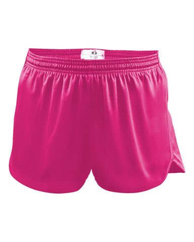 Badger 7278 B-Core Ladies Track Short - Hot Pink