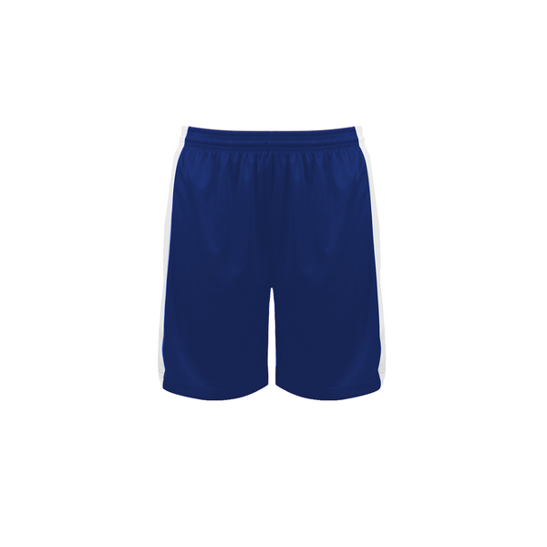 Badger 6149 Court Womens Reversible Short - Royal White
