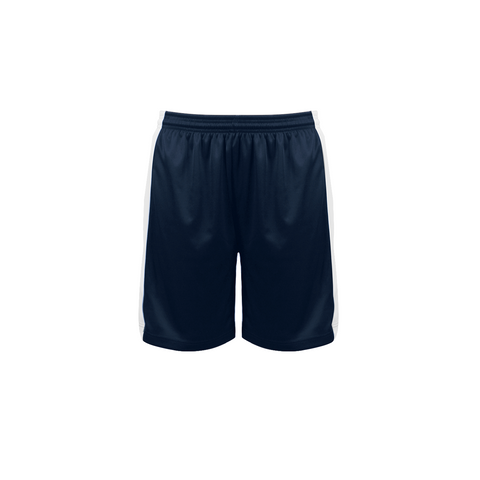 Badger 6149 Court Womens Reversible Short - Navy White