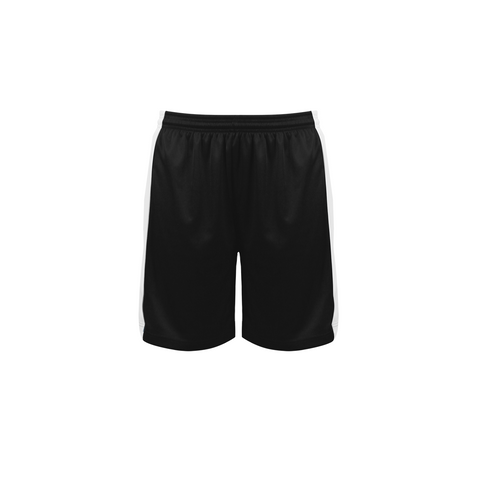 Badger 6149 Court Womens Reversible Short - Black White