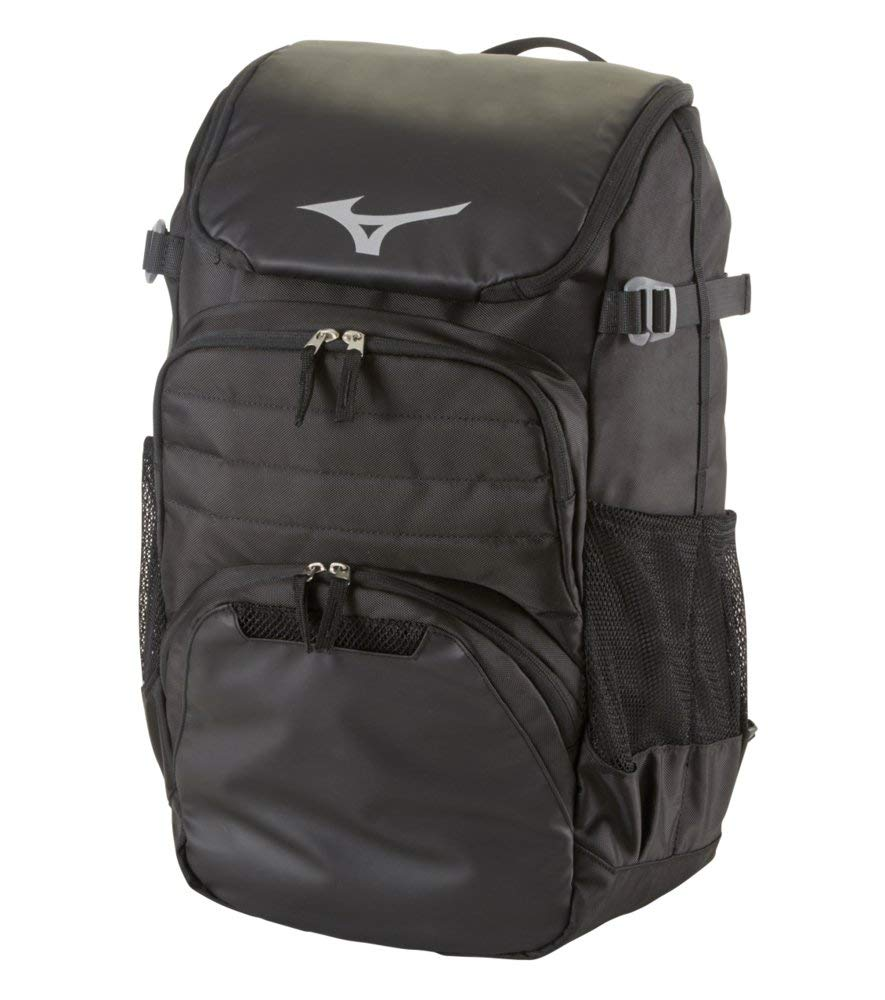 Mizuno Organizer OG5 Backpack - Black – HIT A Double 0f474fc513