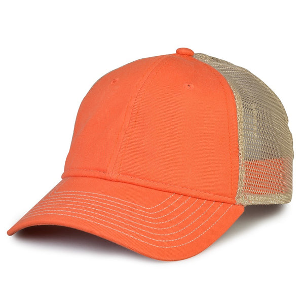 The Game GB870 Soft Mesh Snapback Cap - Orange