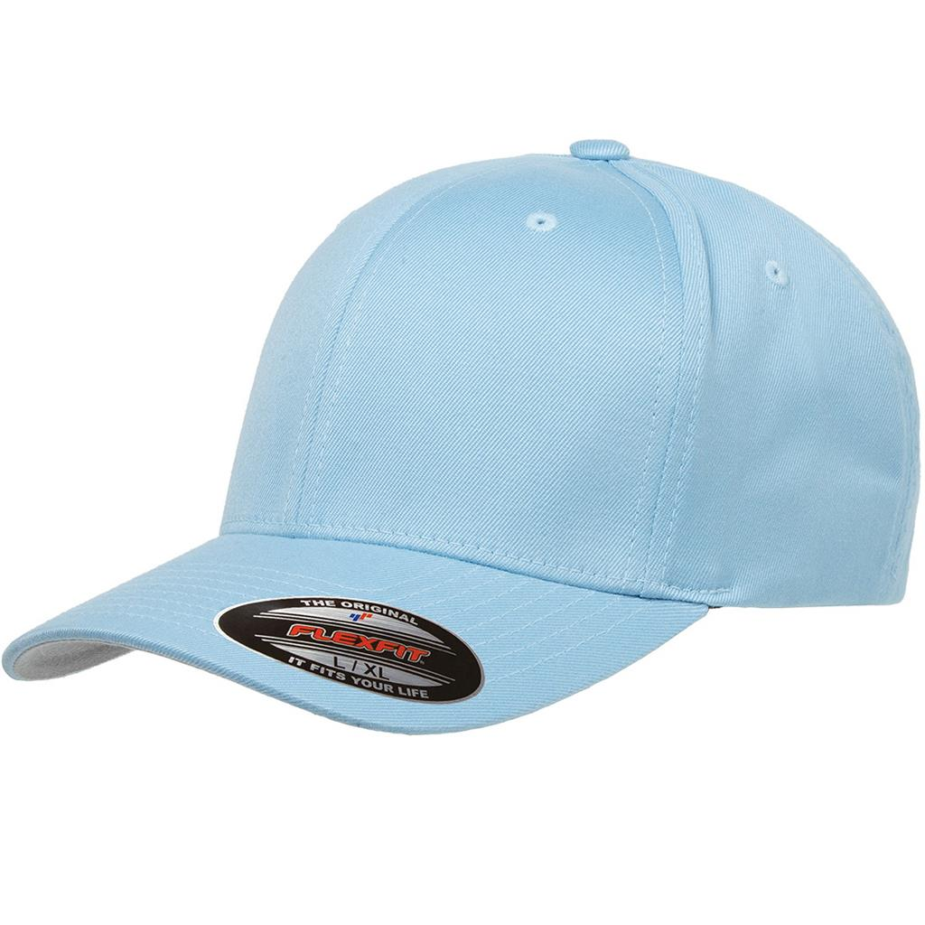 Flexfit 6277 Twill Cap - Carolina Blue
