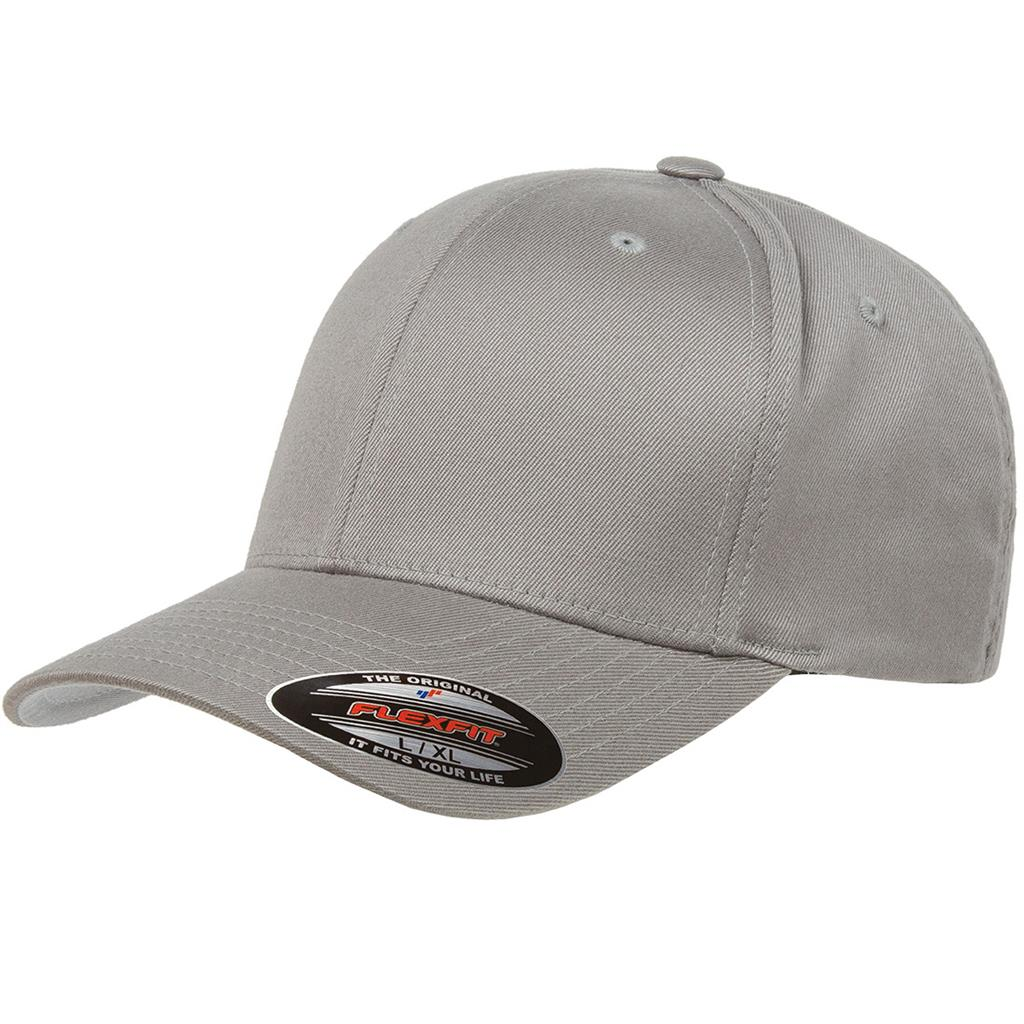 Flexfit 6277 Twill Cap - Gray