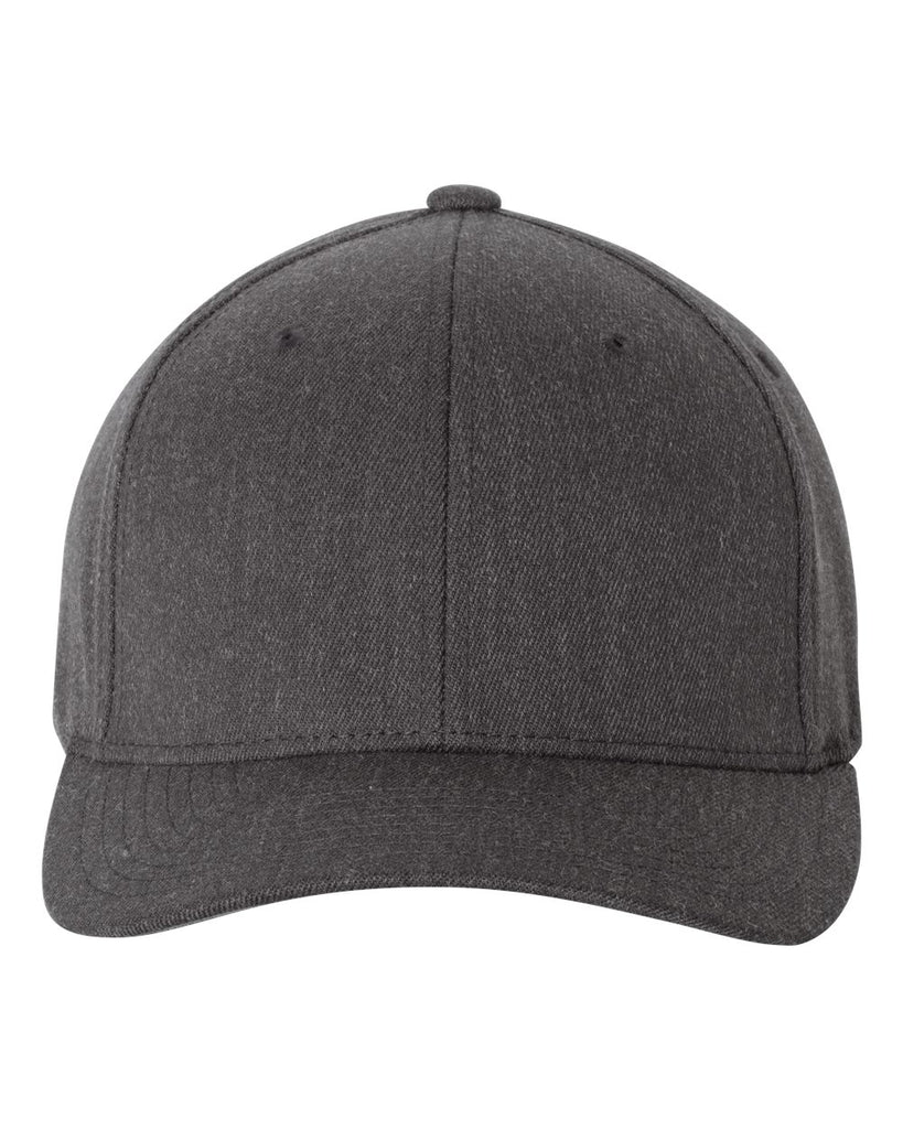 Flexfit 6477 Wool-Blend Cap - Dark Heather