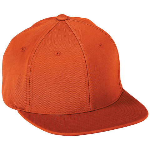 Augusta 6314 Flex Fit Flat Bill Cap - Orange - HIT A Double