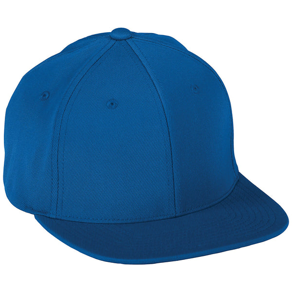 Augusta 6314 Flex Fit Flat Bill Cap - Royal - HIT A Double