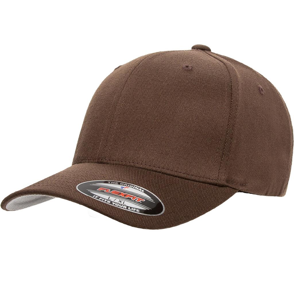 Flexfit 6477 Wool-Blend Cap - Brown