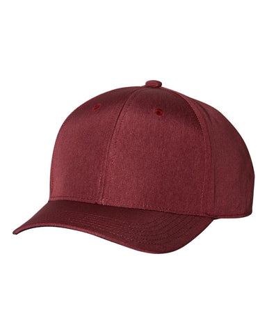 Adidas A628 Heather Print Cap - Collegiate Burgundy
