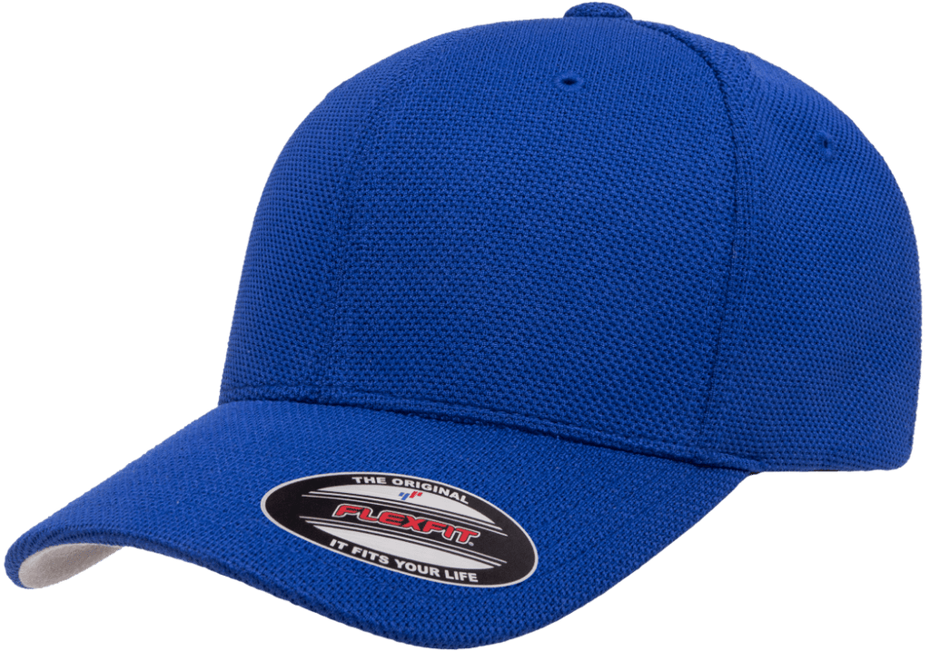 Flexfit 6577CD Cool & Dry Piqué Mesh Cap - Royal Blue