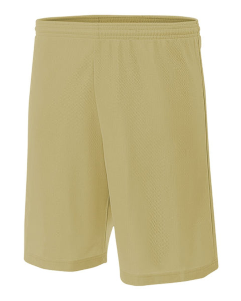 "A4 N5184 7"" Lined Micromesh Short - Vegas Gold"
