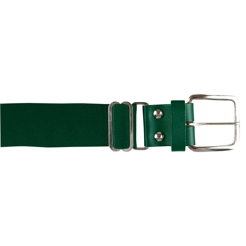 Champro A060 Brute Baseball Belt Leather Tab - Forest Green
