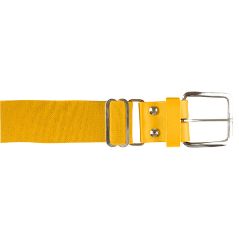 Champro A060 Brute Baseball Belt Leather Tab - Gold