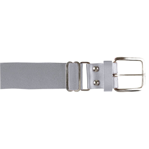 Champro A060 Brute Baseball Belt Leather Tab - Gray