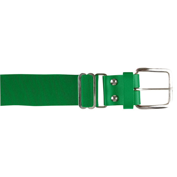 Champro A060 Brute Baseball Belt Leather Tab - Kelly Green