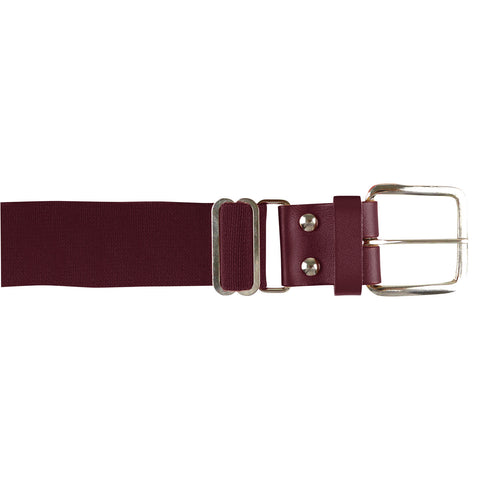 Champro A060 Brute Baseball Belt Leather Tab - Maroon