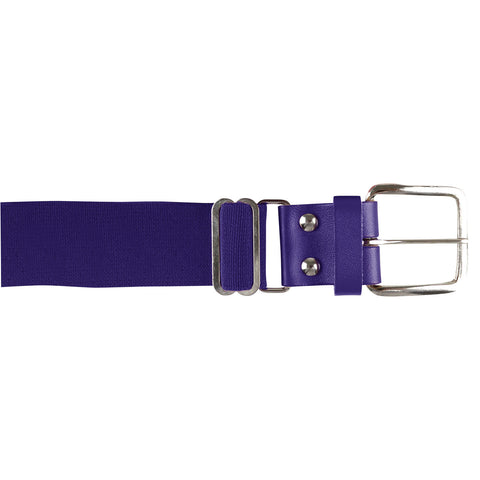 Champro A060 Brute Baseball Belt Leather Tab - Purple