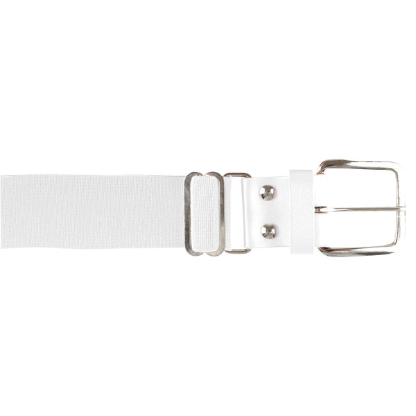 Champro A060 Brute Baseball Belt Leather Tab - White