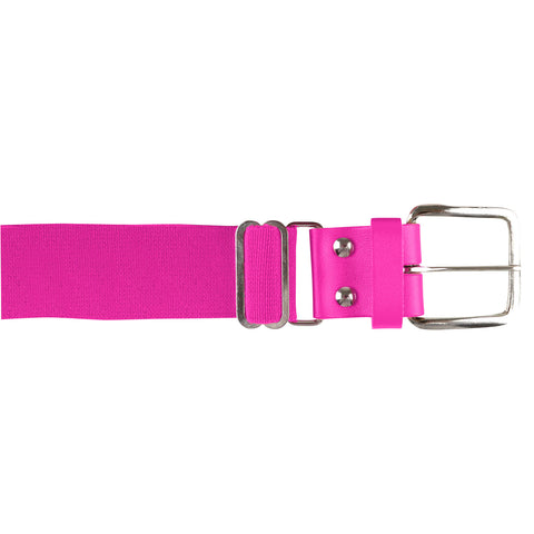 Champro A060 Brute Baseball Belt Leather Tab - Optic Pink