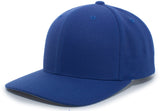 Pacific Headwear 701W Pro-Wool Snapback Cap - Royal - HIT A Double