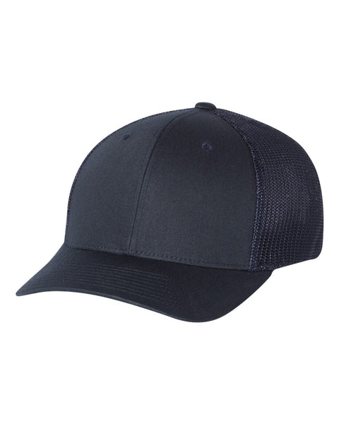 Richardson 110 Fitted Trucker with R-Flex Cap - Navy