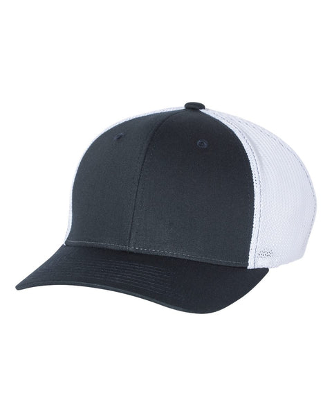 Richardson 110 Fitted Trucker with R-Flex Cap - Navy White
