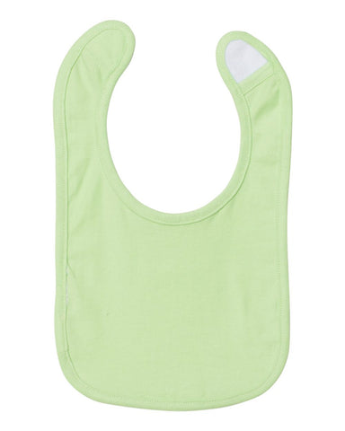 Rabbit Skins 1005 Infant Premium Jersey Bib - Mint
