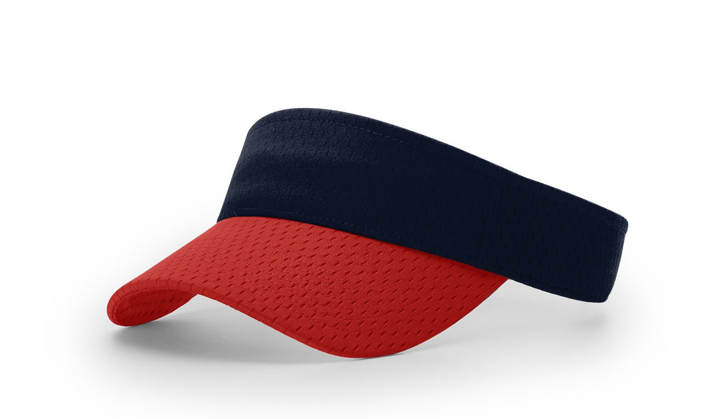 Richardson 740 Pro Mesh Visor - Navy Red