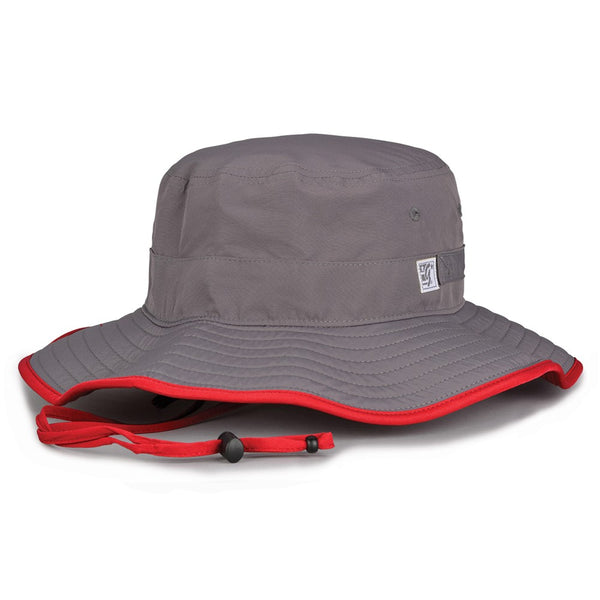 The Game GB400 Ultralight Boonie - Dark Gray Red - HIT A Double