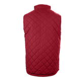 Badger 7666 Quilted Women's Vest - Red