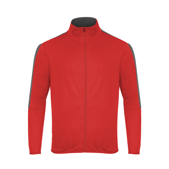 Badger 272100 Blitz Outer-Core Youth Jacket - Red Graphite - HIT A Double