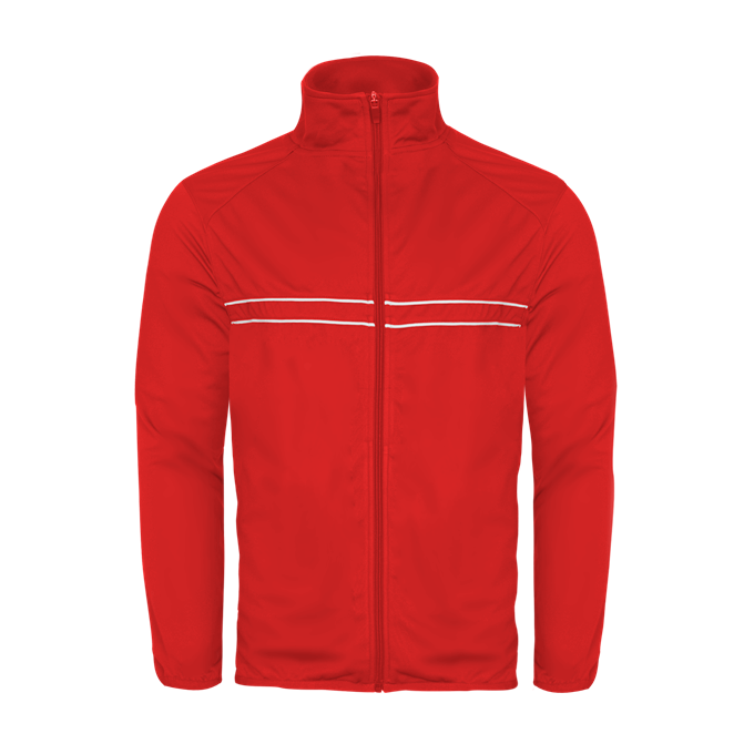 Badger 772300 Wired Outer-Core Jacket - Red White - HIT A Double