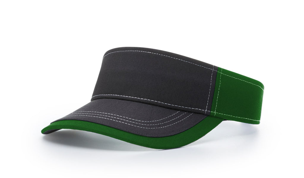 Richardson 775 Twill with Contrast Stitching Visor - Kelly