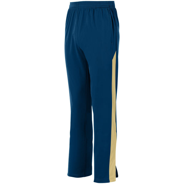Augusta 7761 Youth Medalist Pant 2.0 - Navy Vegas Gold