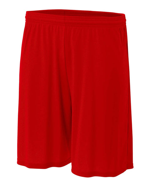 "A4 N5244 7"" Cooling Performance Short - Scarlet"