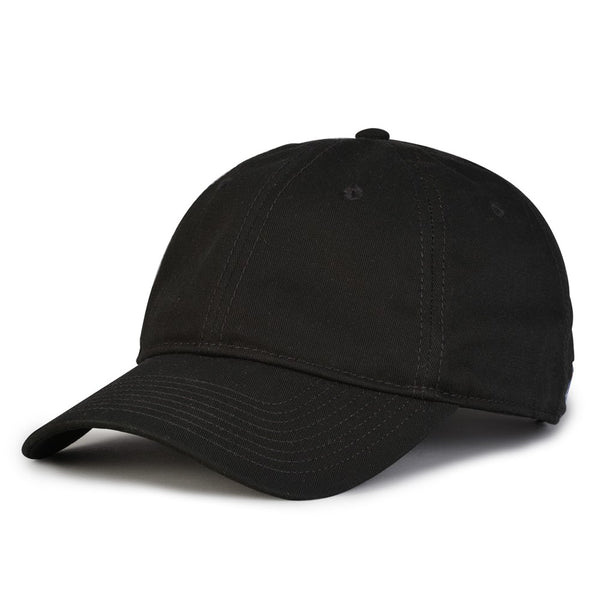 The Game GB210 Classic Relaxed Garment Washed Twill Cap - Black