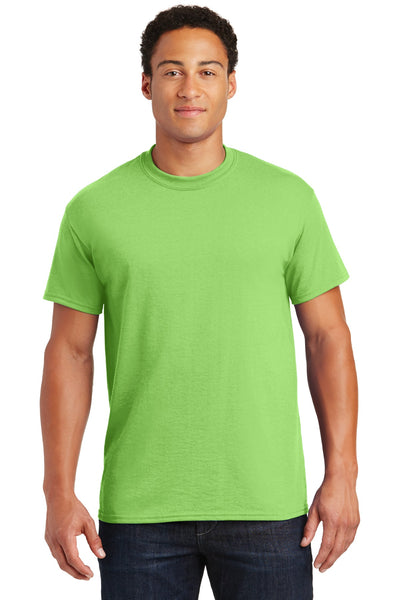 Gildan 8000 Dryblend 50 Cotton/50 Poly T-Shirt - Lime