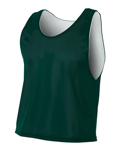 A4 NB2274 Youth Lacrosse Reversible Practice Jersey - Forest White