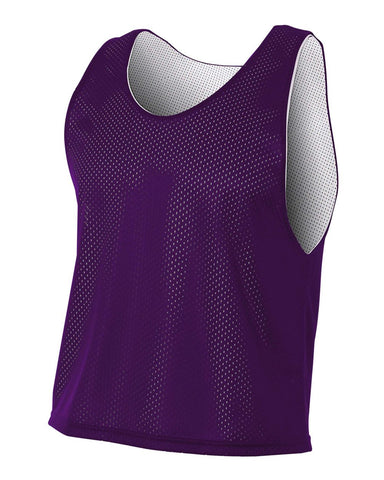 A4 NB2274 Youth Lacrosse Reversible Practice Jersey - Purple White