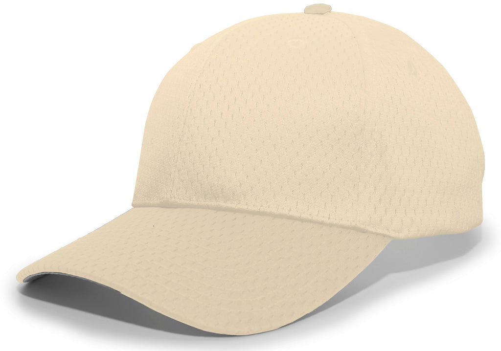 Pacific Headwear 805M Coolport Mesh Hook-and-Loop Cap - Vegas Gold - HIT A Double