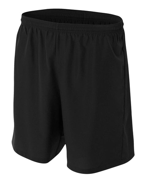 A4 NB5343 Youth Woven Soccer Short - Black