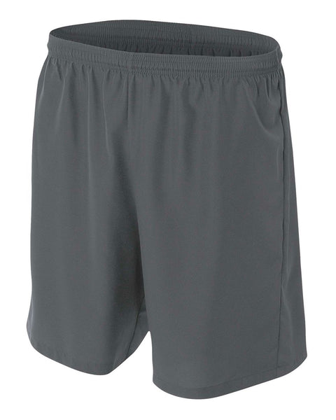 A4 NB5343 Youth Woven Soccer Short - Graphite