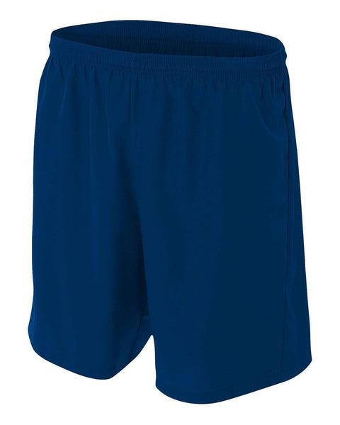A4 NB5343 Youth Woven Soccer Short - Navy