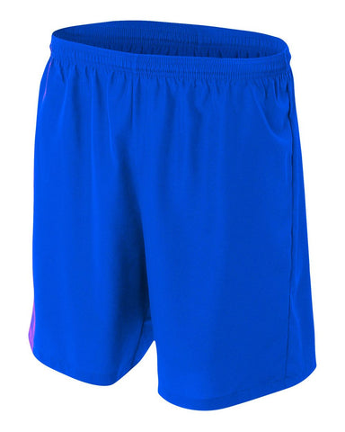 A4 NB5343 Youth Woven Soccer Short - Royal